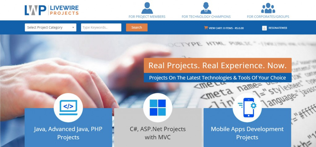 LiveWireProjects.com